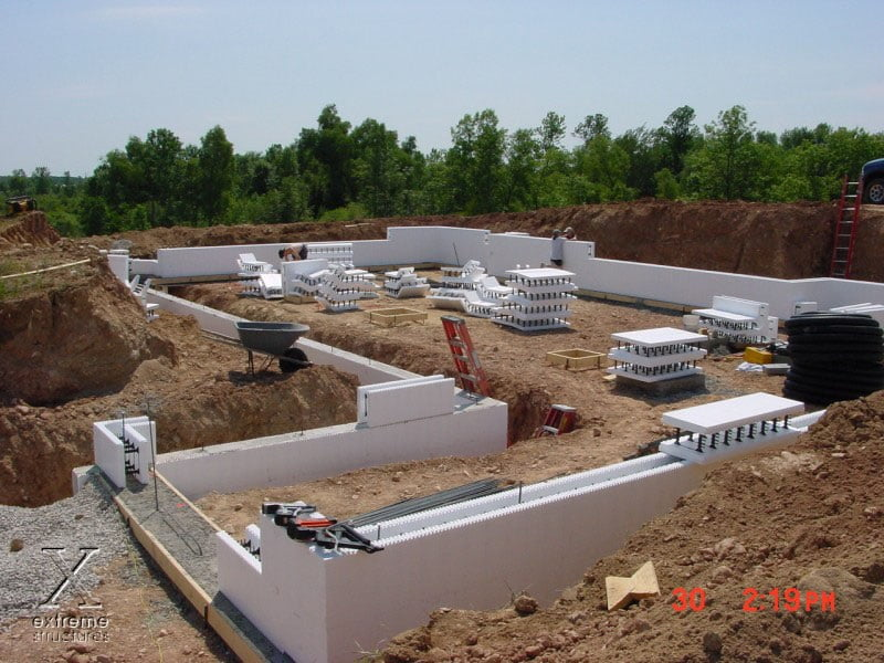 Foundations building traditions general contracting for Icf home cost estimator
